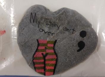 """Taler d'artteràpia: """"Les pedres del camí"""""""