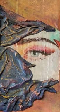 "Fragmen Collage ""Visions"""